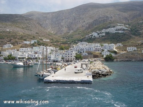 Port Aigiali (Amorgos) (Greece)