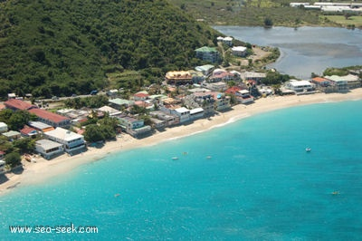 Baie Grand Case (St martin)