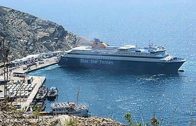 Port Athinios (Santorin) (Greece)
