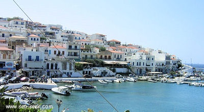 Port Batsi (Andros) (Greece)