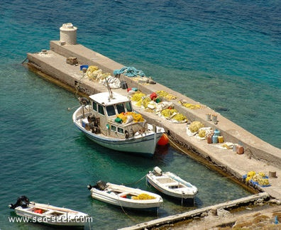 Port Ayios Andonis (Tilos) (Greece)