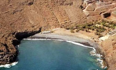 Playa del Vallehermoso (Gomera)